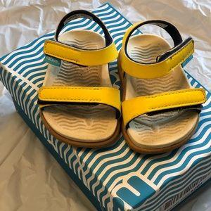 Native yellow Sandals